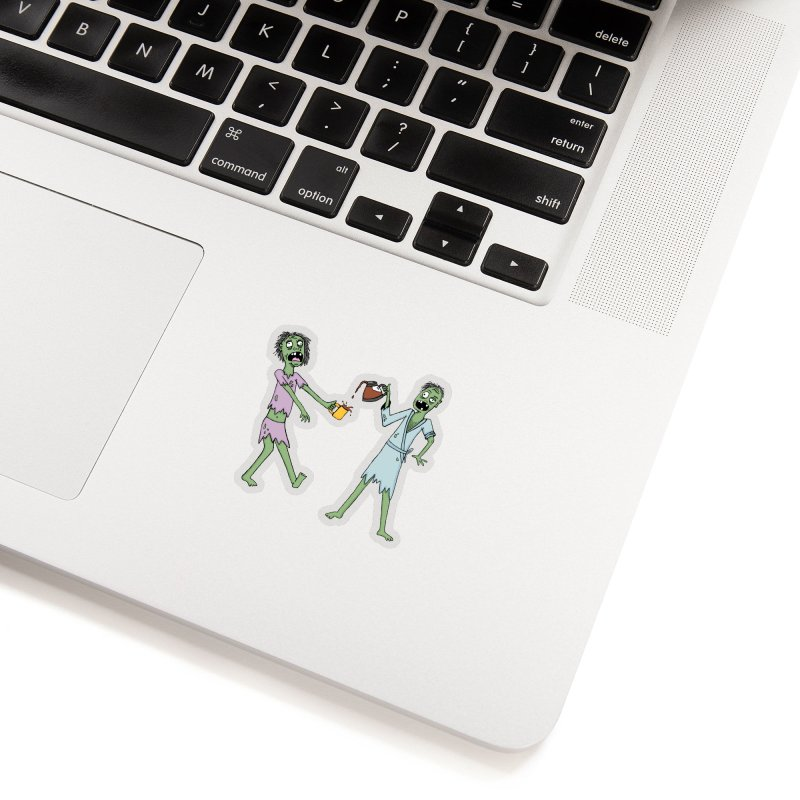 The Waking Dead Accessories Sticker by mirkaillustrates's Artist Shop