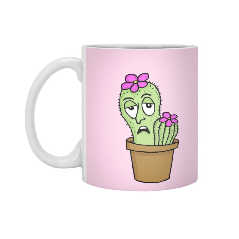Cranky Cacti Accessories Mug by mirkaillustrates's Artist Shop