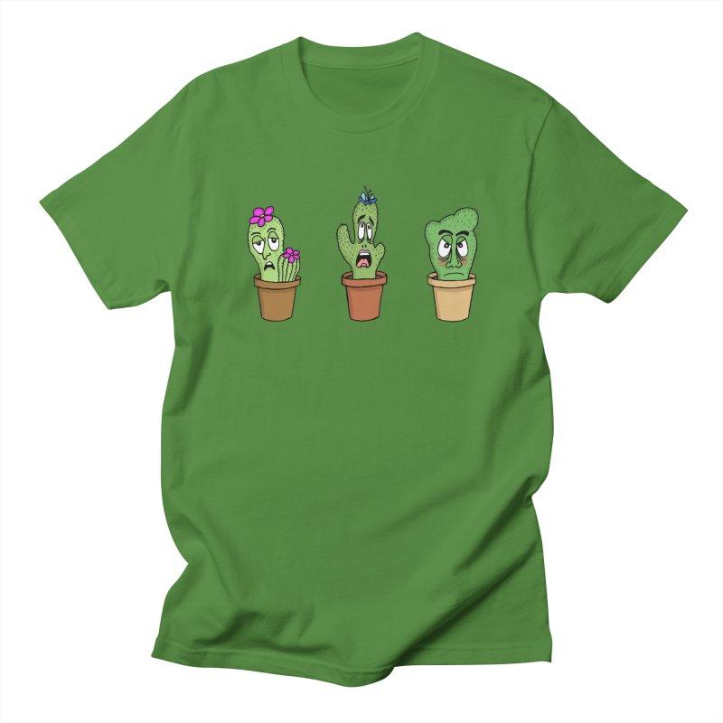 Cranky Cacti Men's T-Shirt by mirkaillustrates's Artist Shop