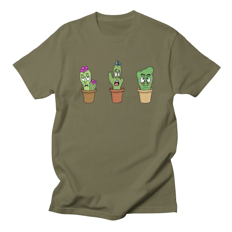 Cranky Cacti Men's T-Shirt by mirkaillustrates's Artist Shop
