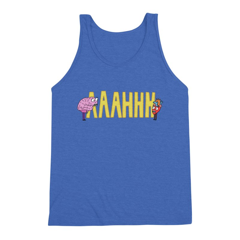 Anxiety Men's Tank by mirkaillustrates's Artist Shop