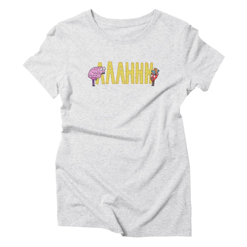 Anxiety Women's T-Shirt by mirkaillustrates's Artist Shop