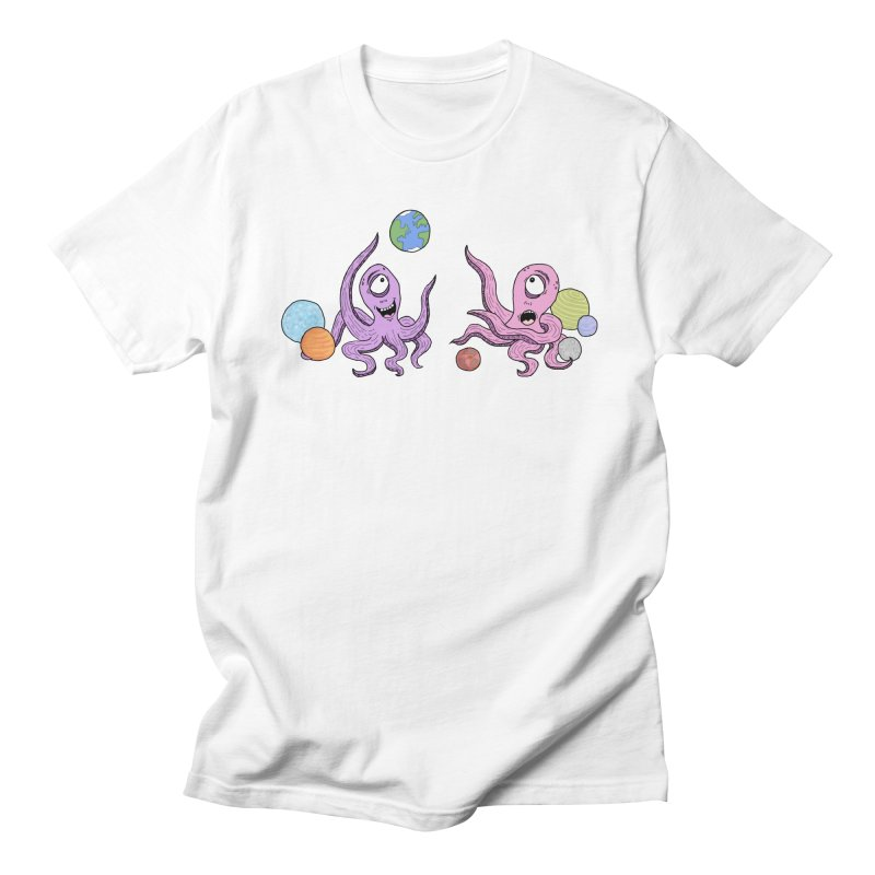 Intergalactic Volleyball Men's T-Shirt by mirkaillustrates's Artist Shop