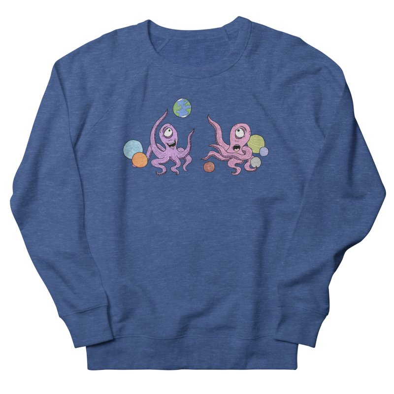 Intergalactic Volleyball Women's Sweatshirt by mirkaillustrates's Artist Shop