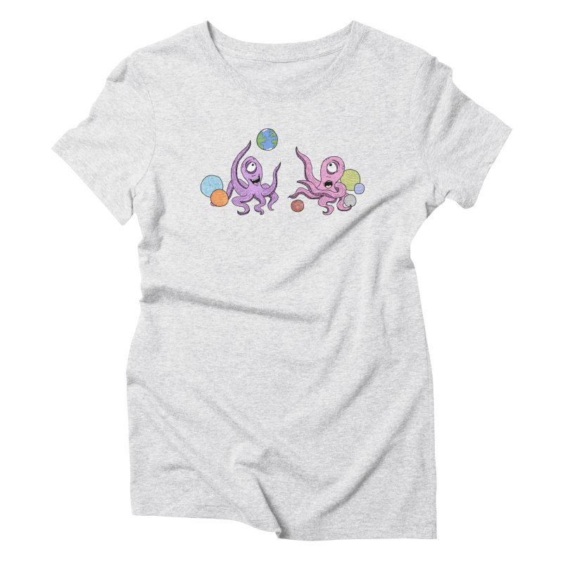 Intergalactic Volleyball Women's T-Shirt by mirkaillustrates's Artist Shop