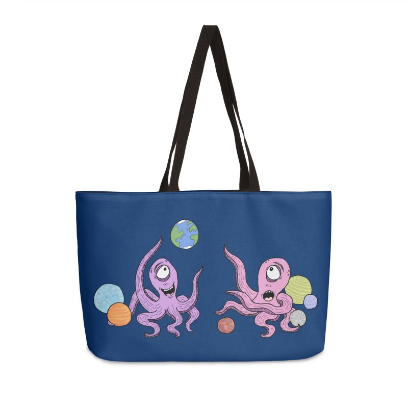 Intergalactic Volleyball Accessories Bag by mirkaillustrates's Artist Shop