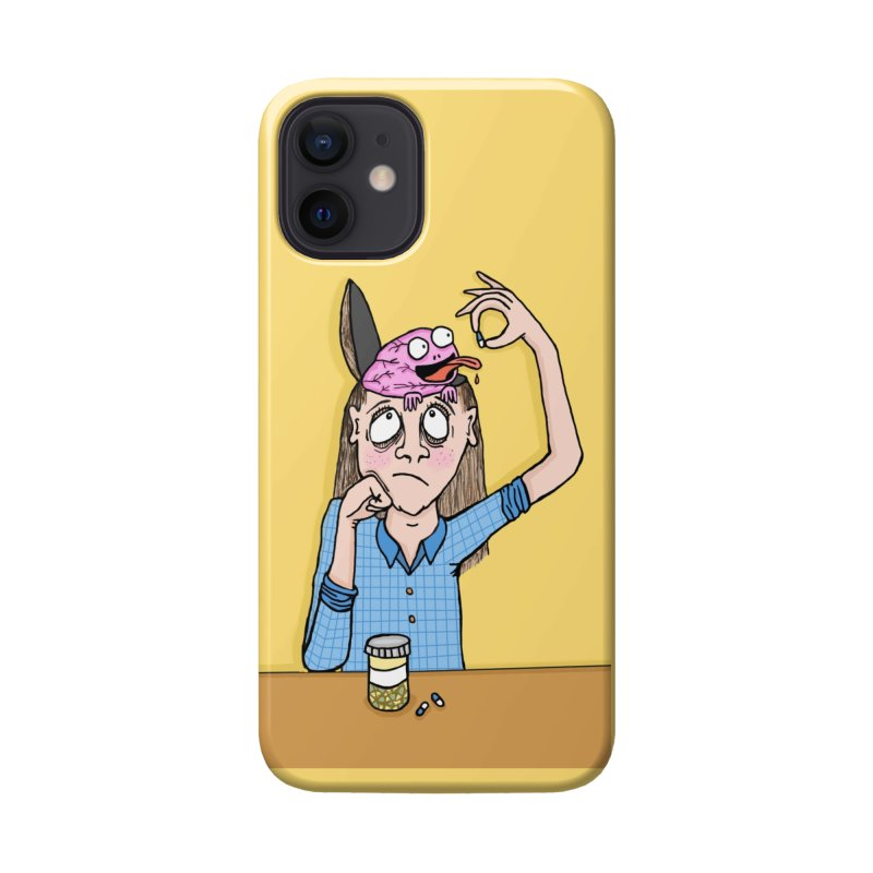 Feeding Brain Accessories Phone Case by mirkaillustrates's Artist Shop