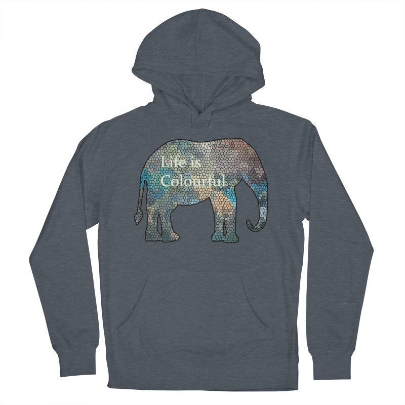 Elephant Mosaic Women's Pullover Hoody by mirrortail's Shop