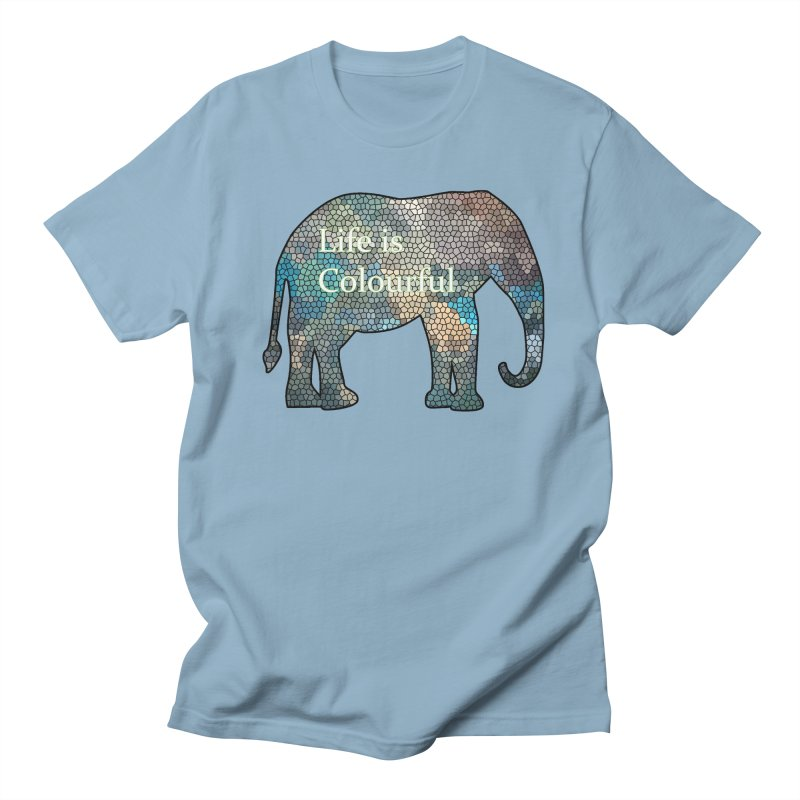 Elephant Mosaic Women's Unisex T-Shirt by mirrortail's Shop