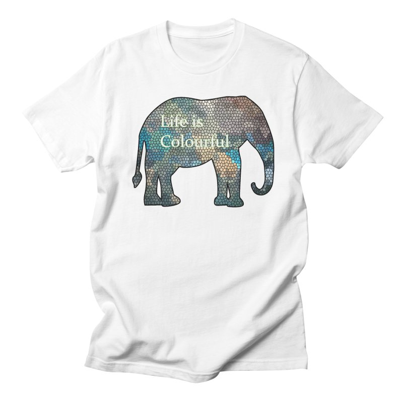 Elephant Mosaic Men's  by mirrortail's Shop