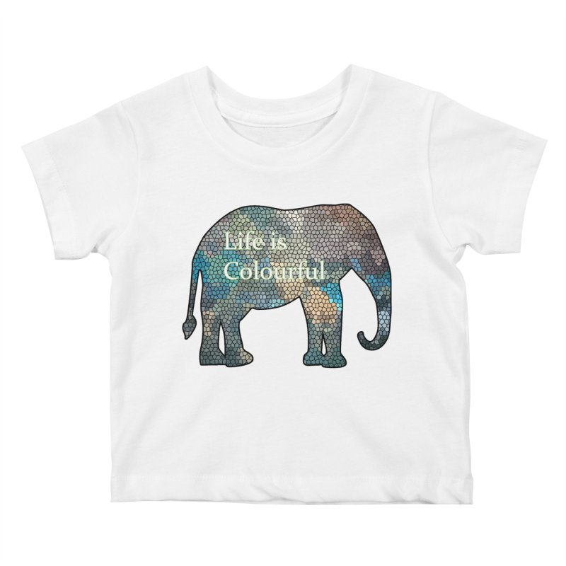 Elephant Mosaic Kids  by mirrortail's Shop