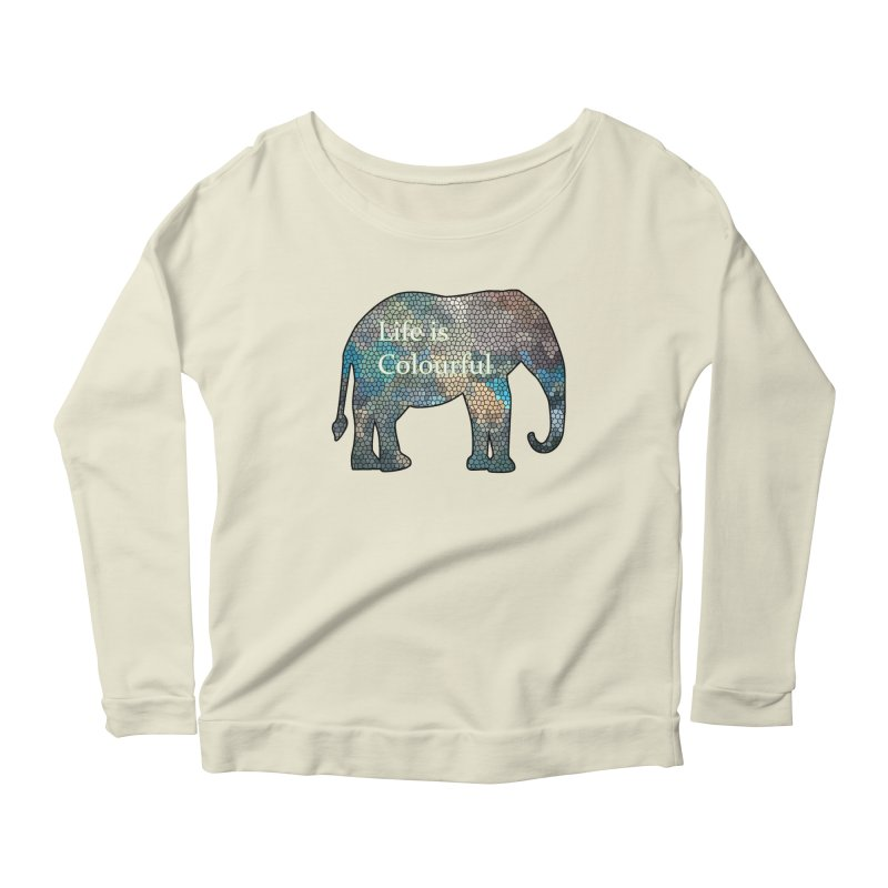 Elephant Mosaic Women's  by mirrortail's Shop