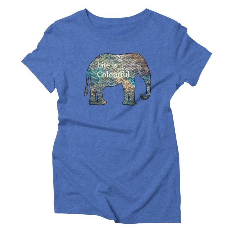 Elephant Mosaic Women's  by mirrortail's Shop