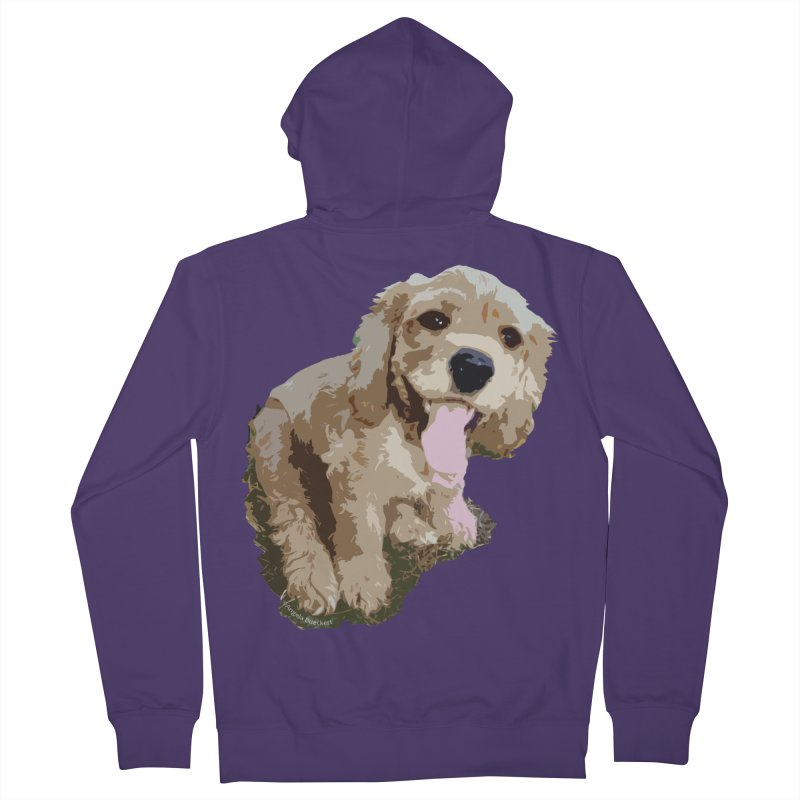 Lil Spaniel Women's Zip-Up Hoody by mirrortail's Shop