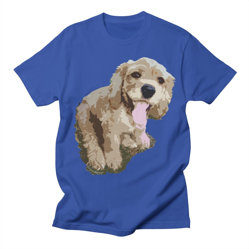 Lil Spaniel Men's T-shirt by mirrortail's Shop