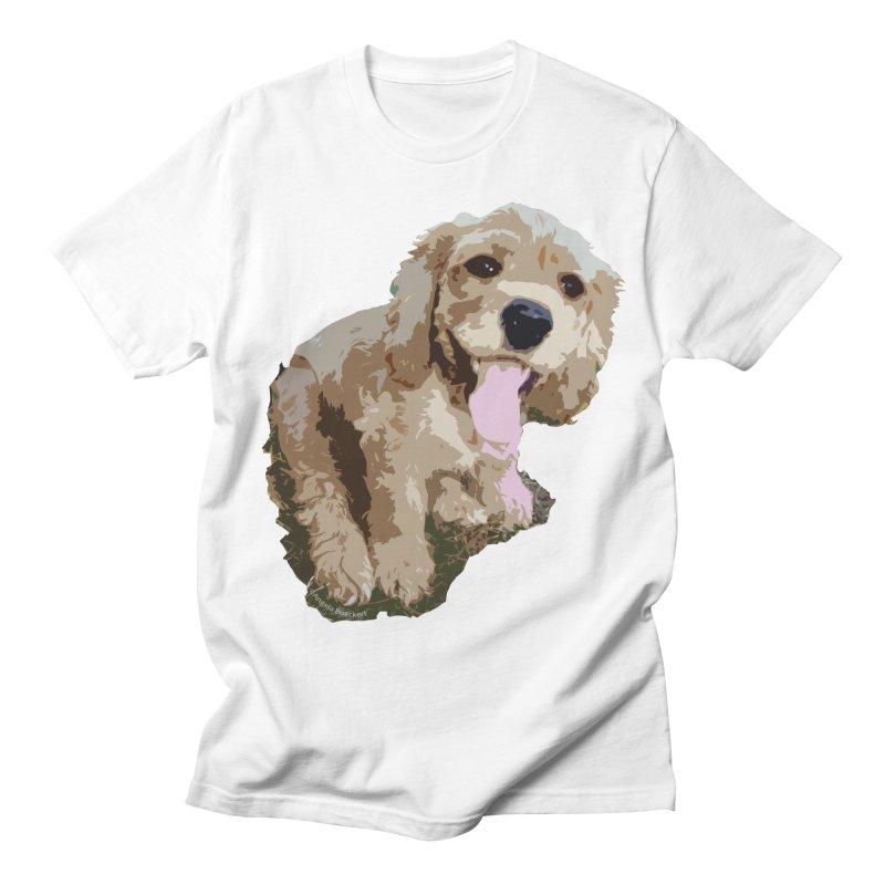 Lil Spaniel Men's Regular T-Shirt by mirrortail's Shop