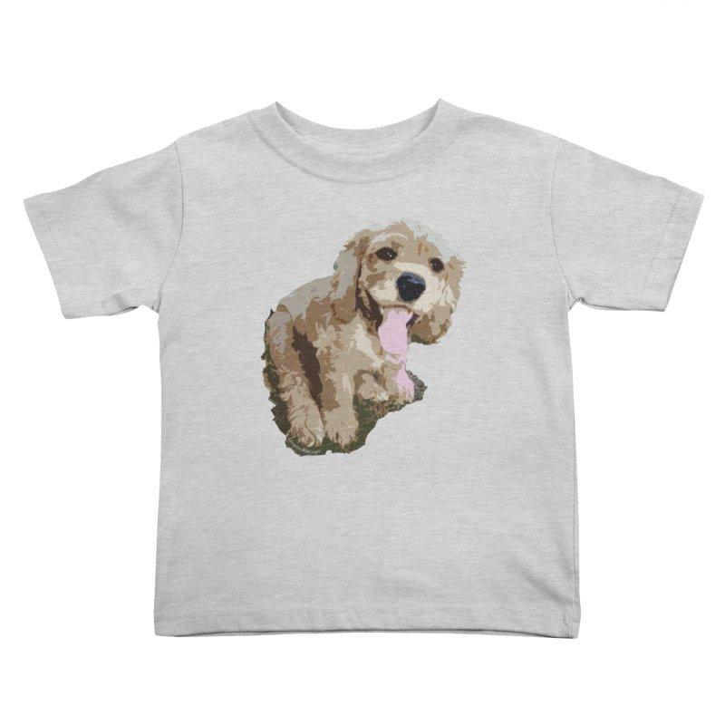 Lil Spaniel Kids Toddler T-Shirt by mirrortail's Shop