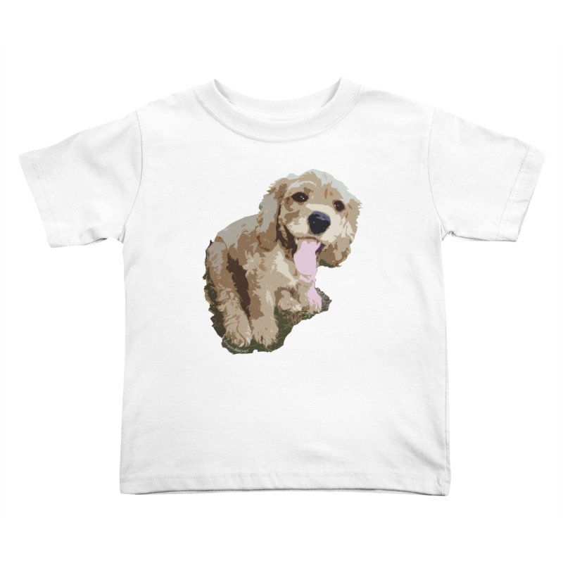 Lil Spaniel Kids Toddler T-Shirt by mirrortail's Shop