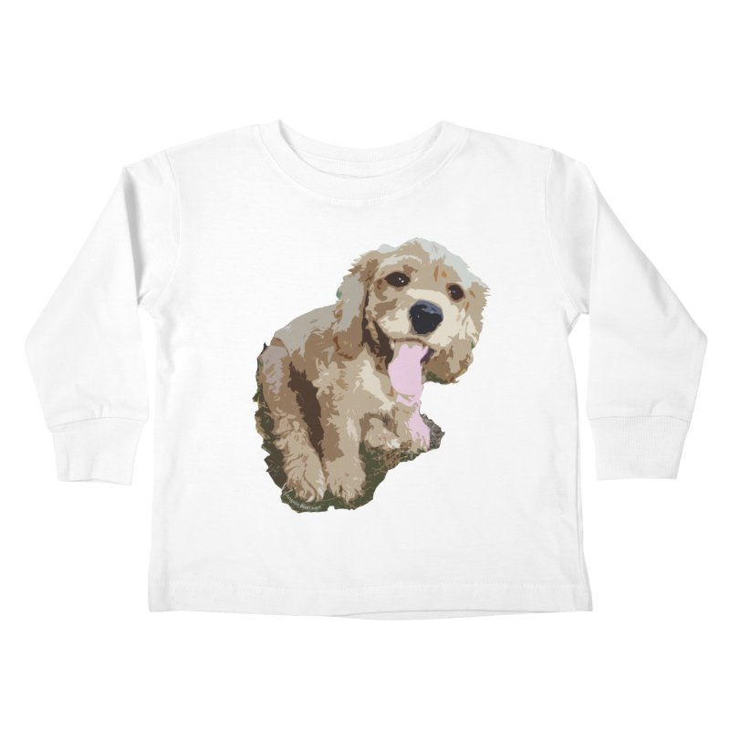 Lil Spaniel Kids Toddler Longsleeve T-Shirt by mirrortail's Shop