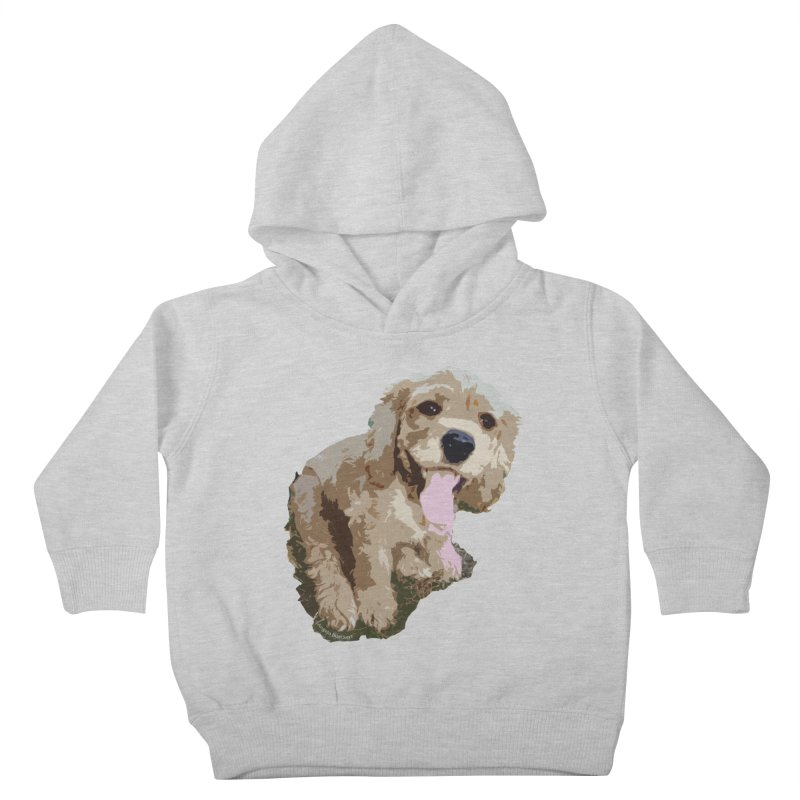 Lil Spaniel Kids Toddler Pullover Hoody by mirrortail's Shop