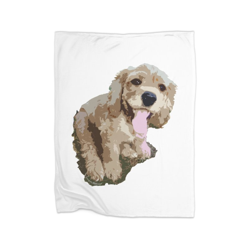 Lil Spaniel Home Blanket by mirrortail's Shop