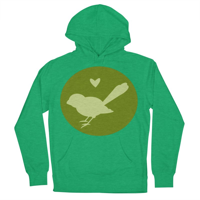 Birdy Green Women's Pullover Hoody by mirrortail's Shop