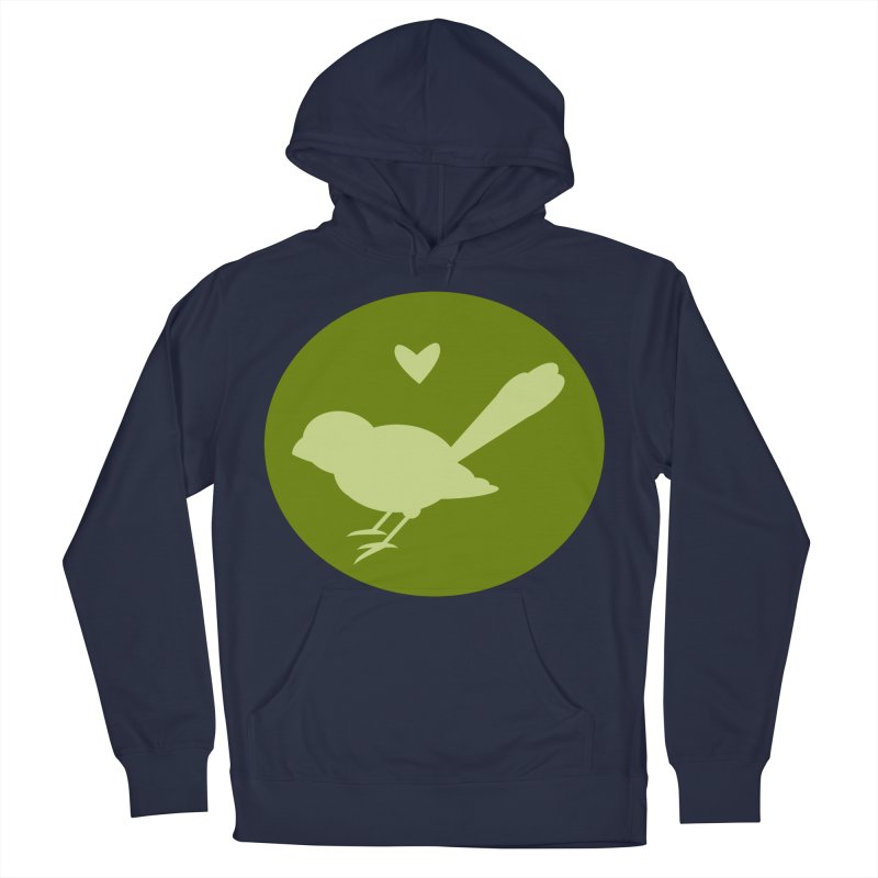 Birdy Green Women's French Terry Pullover Hoody by mirrortail's Shop