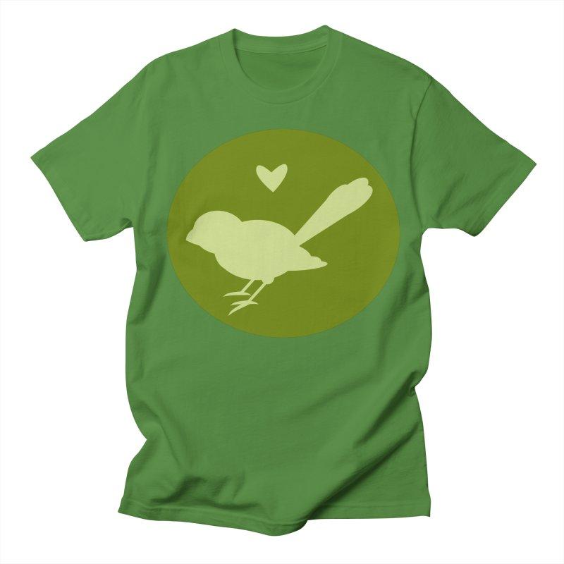 Birdy Green Men's T-shirt by mirrortail's Shop