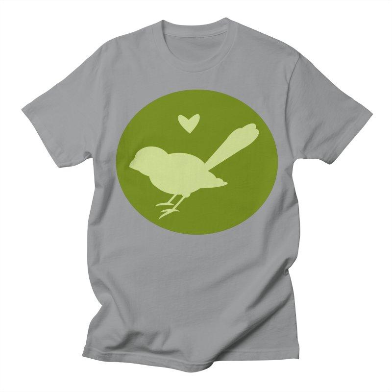 Birdy Green Men's Regular T-Shirt by mirrortail's Shop