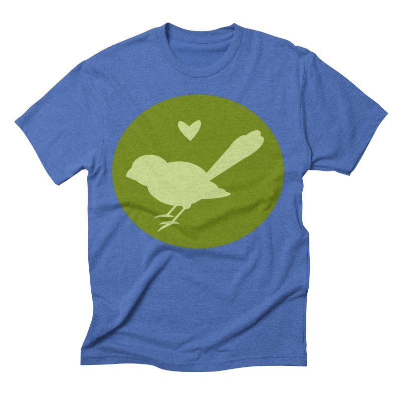 Birdy Green Men's Triblend T-Shirt by mirrortail's Shop