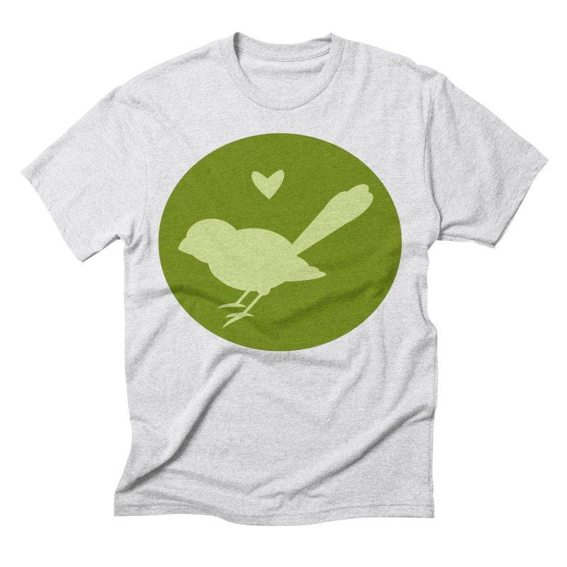 Birdy Green Men's Triblend T-Shirt by mirrortail's Shop