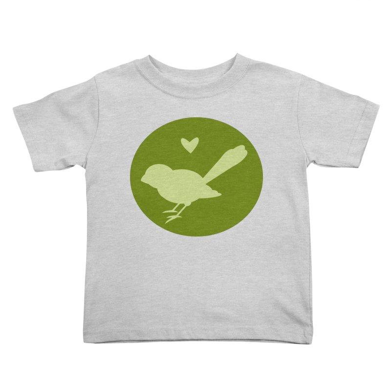 Birdy Green Kids Toddler T-Shirt by mirrortail's Shop