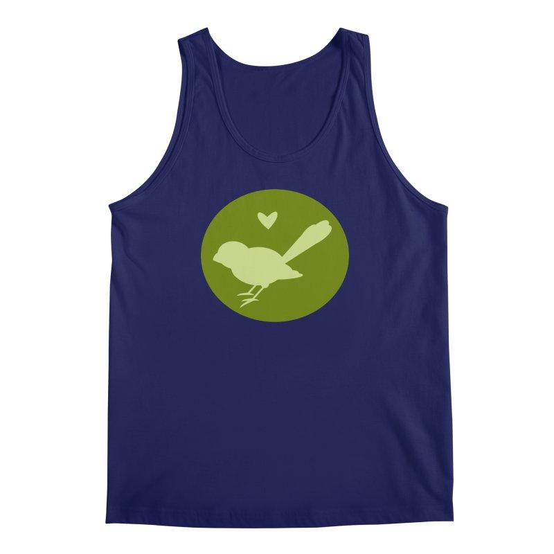 Birdy Green Men's Regular Tank by mirrortail's Shop