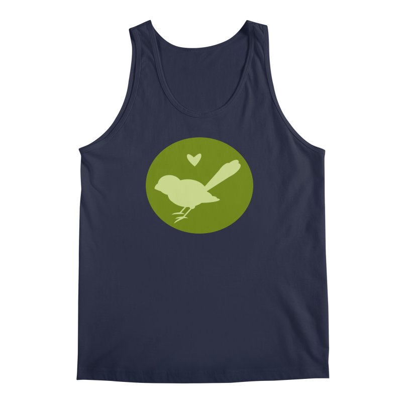 Birdy Green Men's Regular Tank by mirrortail's Shop