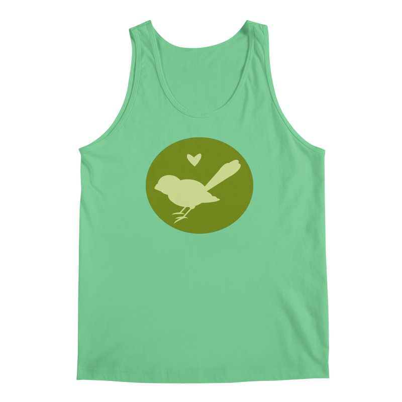 Birdy Green Men's Tank by mirrortail's Shop