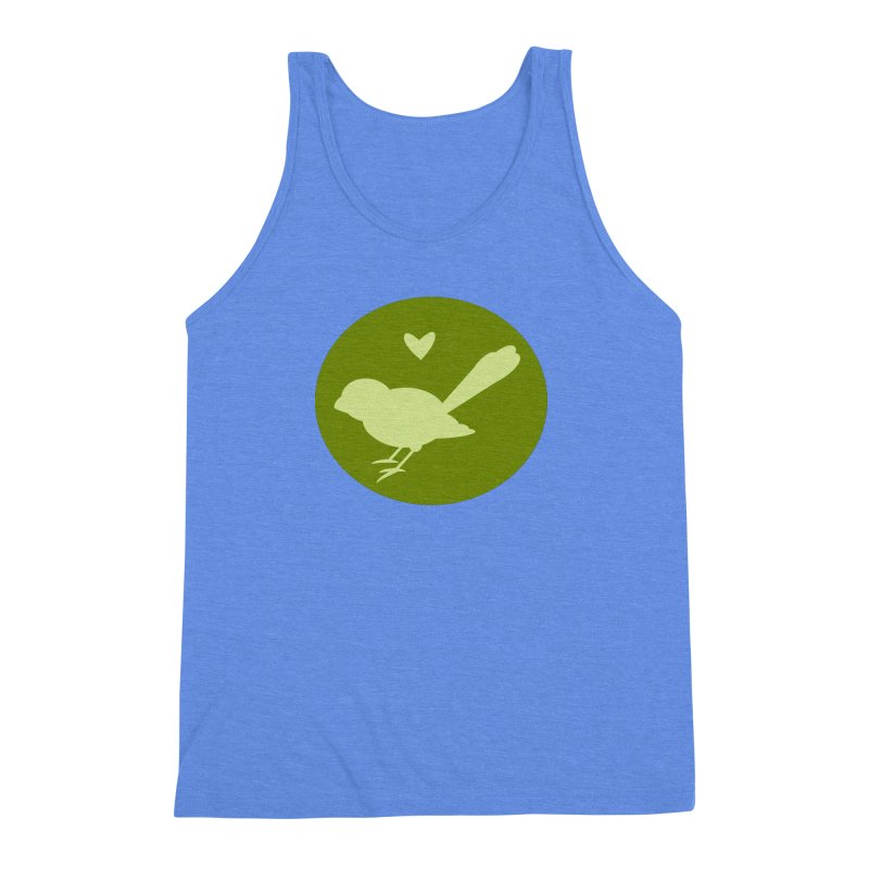 Birdy Green Men's Triblend Tank by mirrortail's Shop