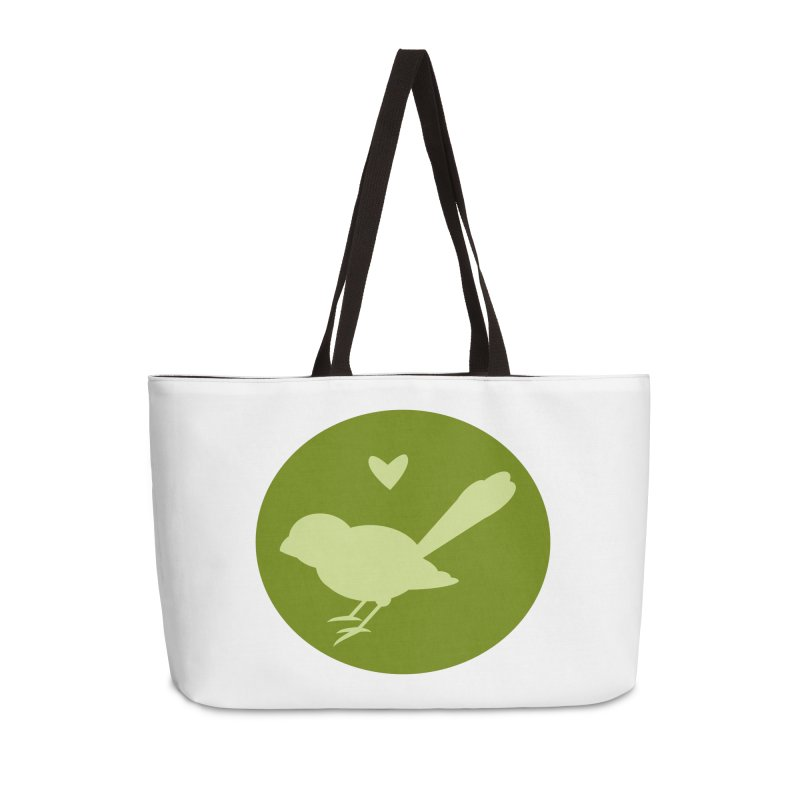 Birdy Green Accessories Weekender Bag Bag by mirrortail's Shop