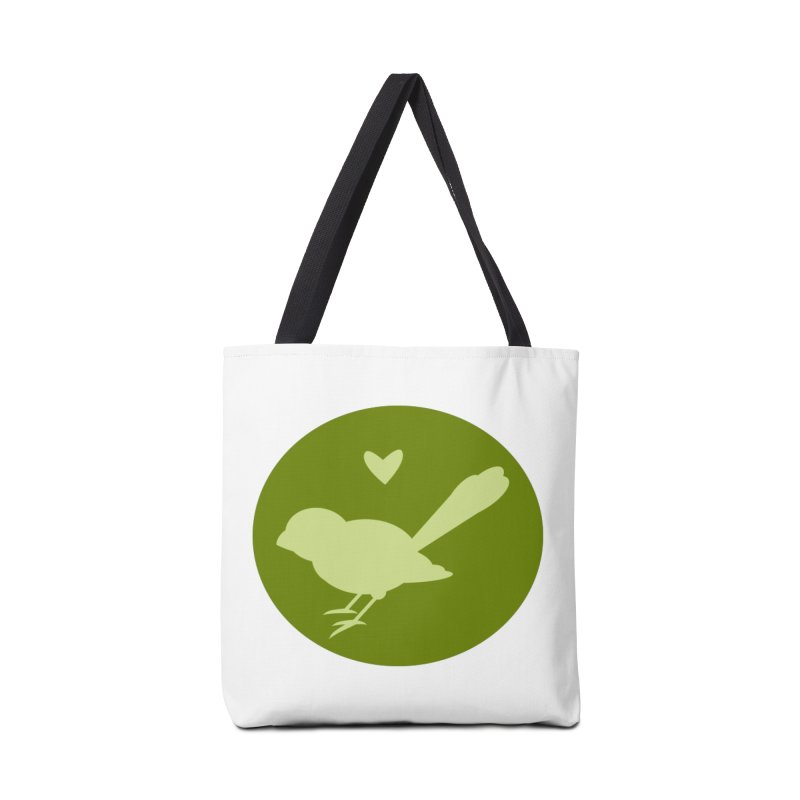 Birdy Green Accessories Bag by mirrortail's Shop