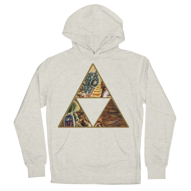 Volvagia vs Link Triforce Women's Pullover Hoody by mirrortail's Shop