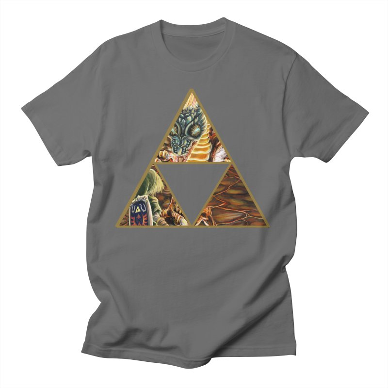 Volvagia vs Link Triforce Men's  by mirrortail's Shop
