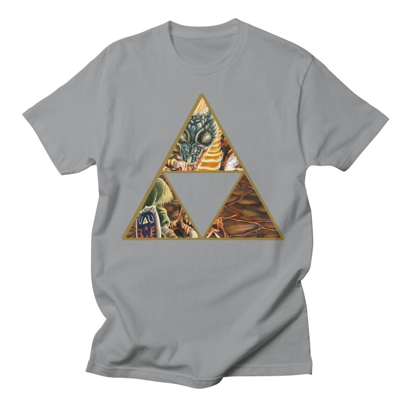 Volvagia vs Link Triforce Women's Unisex T-Shirt by mirrortail's Shop