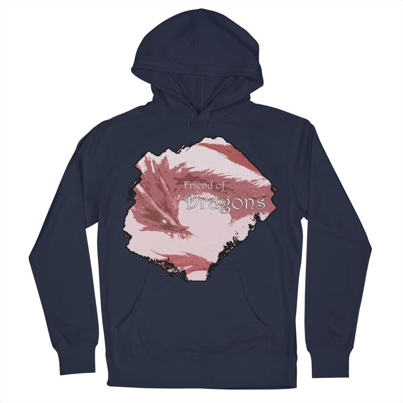 Friend of Dragons - Red Women's Pullover Hoody by mirrortail's Shop