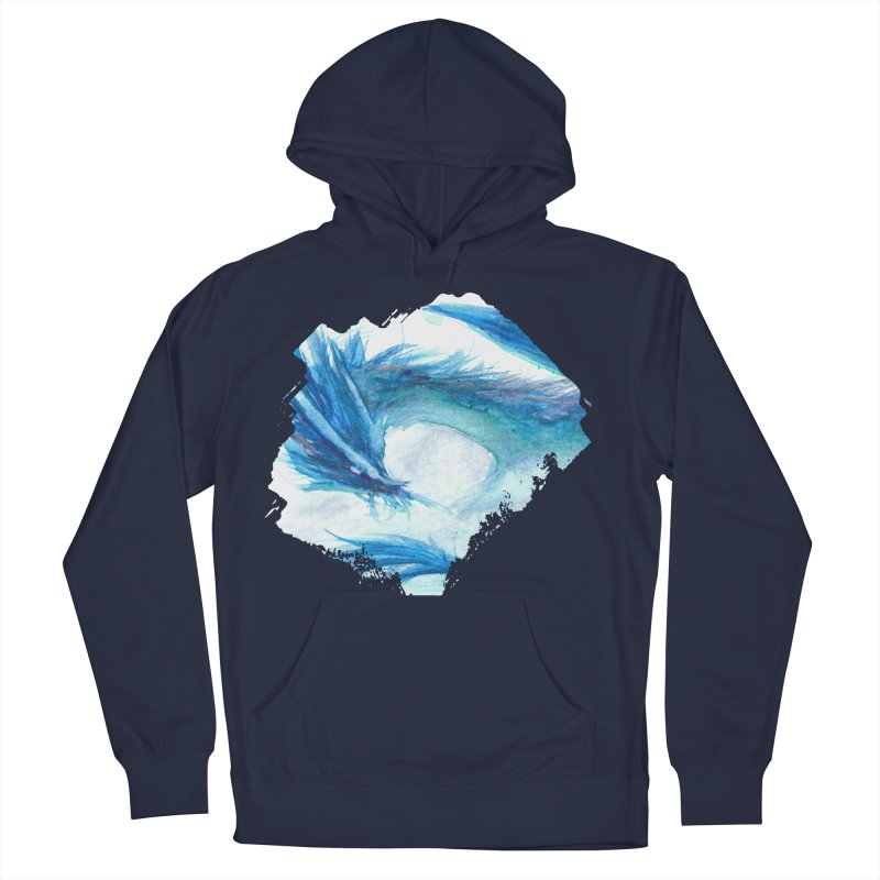 Colossal of the Blue Mists Women's French Terry Pullover Hoody by mirrortail's Shop