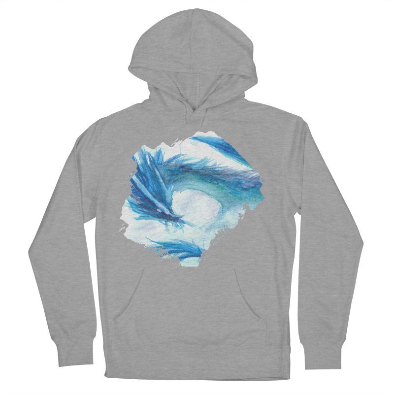 Colossal of the Blue Mists Men's French Terry Pullover Hoody by mirrortail's Shop