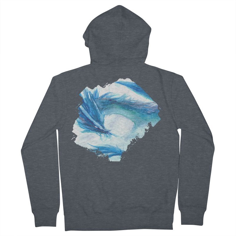 Colossal of the Blue Mists Women's Zip-Up Hoody by mirrortail's Shop