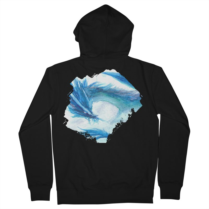 Colossal of the Blue Mists Women's French Terry Zip-Up Hoody by mirrortail's Shop