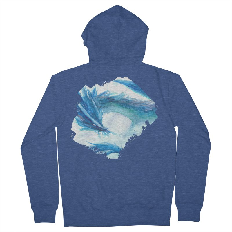 Colossal of the Blue Mists Men's French Terry Zip-Up Hoody by mirrortail's Shop