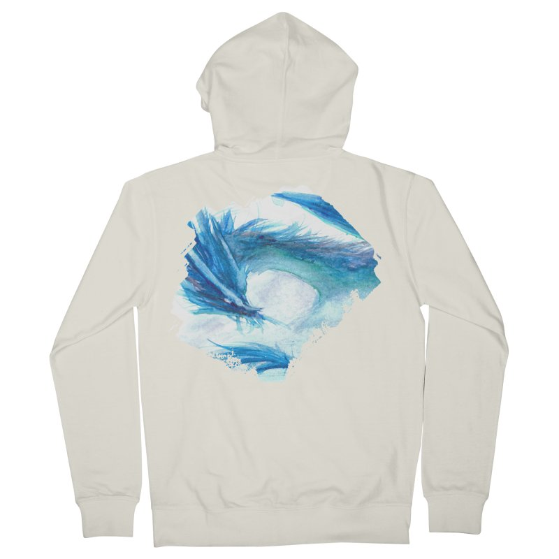 Colossal of the Blue Mists Men's Zip-Up Hoody by mirrortail's Shop