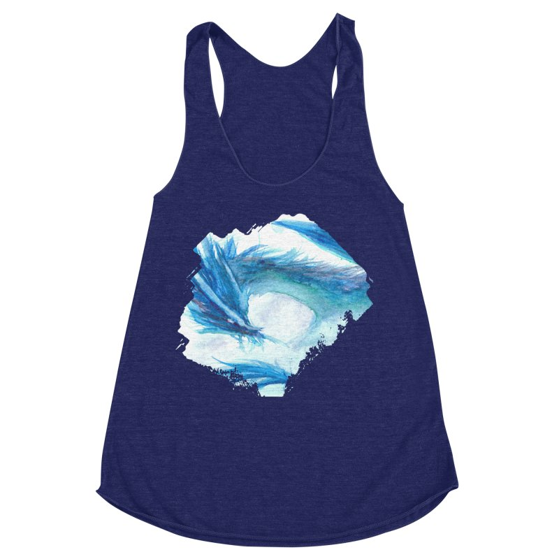 Colossal of the Blue Mists Women's Racerback Triblend Tank by mirrortail's Shop