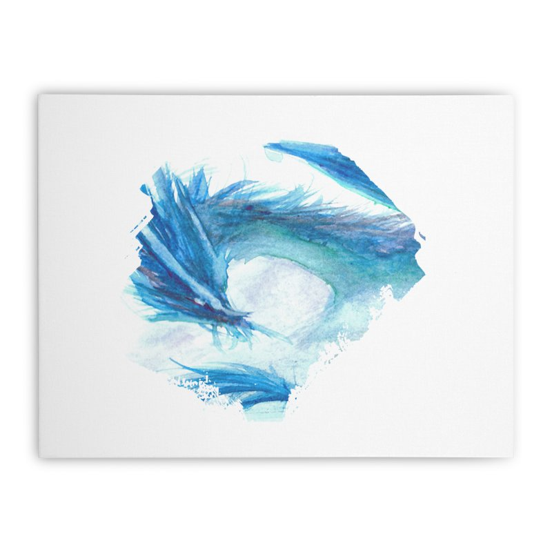 Colossal of the Blue Mists Home Stretched Canvas by mirrortail's Shop